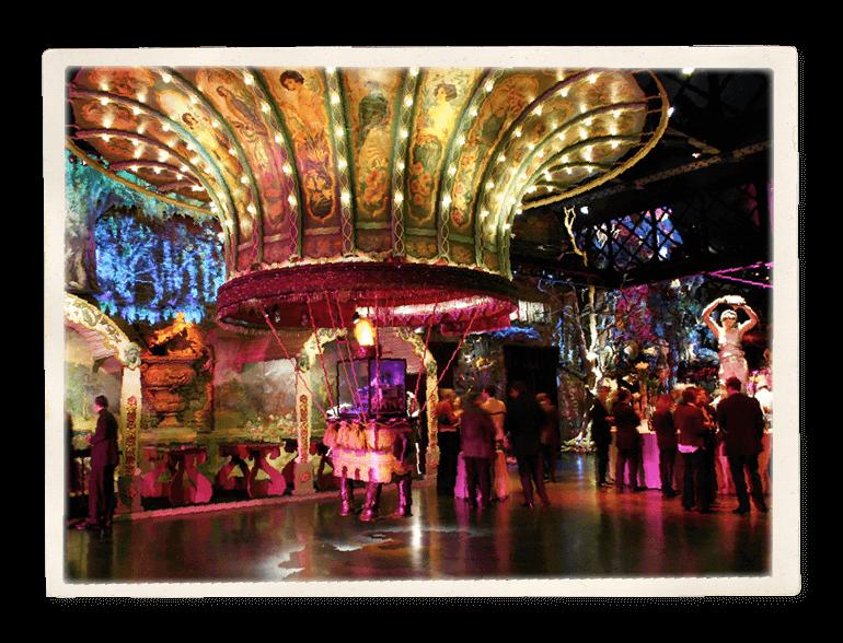 Vue du Théâtre du Merveilleux à l'occasion d'un cocktail