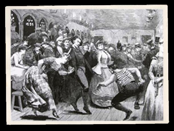 Illustration d'un guinguette du Joyeux Bercy
